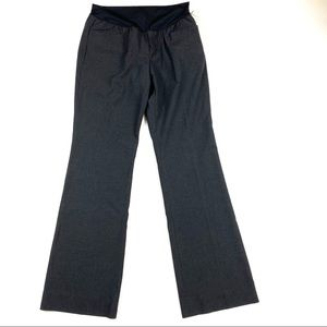 Gap Maternity Slacks Pants 6 NWT GREY GRAY
